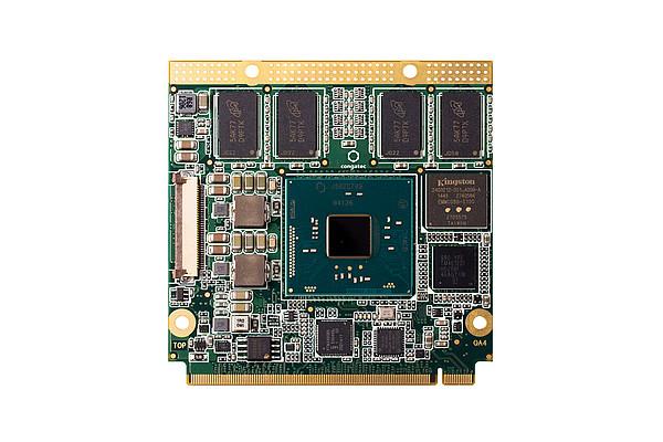 congatec QA4/N3710-4G eMMC16: Qseven Modul mit Intel® Pentium® N3710 QuadCore Prozessor