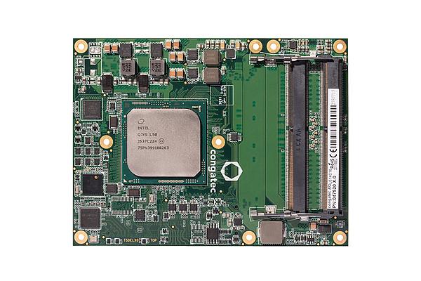 congatec-B7XD/P-D1508: COM Express Type 7 Basic Modul mit Intel® Pentium™ D1508 und bis zu 2,6 GHz