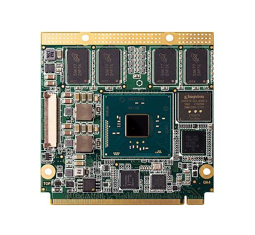 congatec QA4/E8000-2G eMMC8: Qseven Modul mit Intel® Atom™ X5-E8000