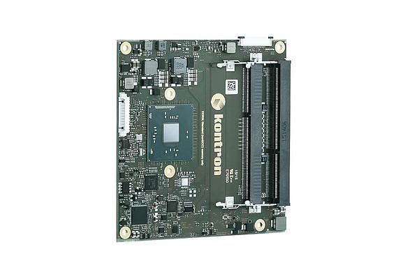 Kontron-COMe-cBW6 N3710: COM Express® compact Modul mit Intel® Pentium N3710