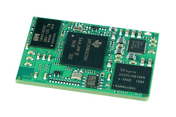 BeagleCore™ BCM1.STR: Industrielles Modul mit Kernfunktionalitäten des BeagleBone Black